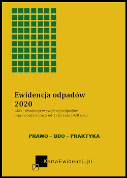 Poradnik Ewidencja odpadów 2020 - Rejestr BDO