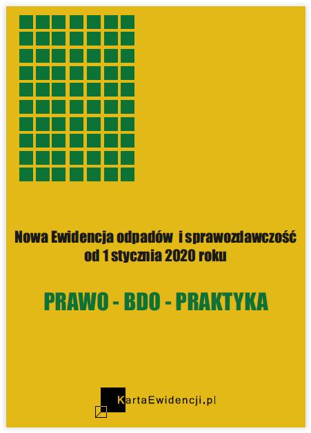 EWIDENCJA ODPADÓW 2020